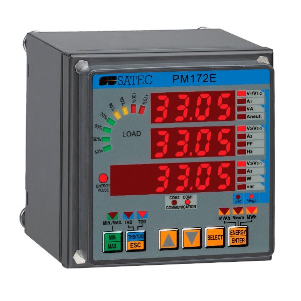 Регистраторы напряжения сети и тока (параметров электрической сети)
