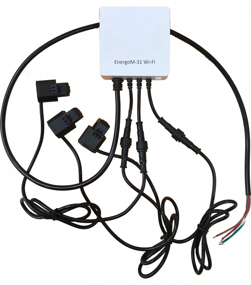 Wi-Fi Tuya - Измеритель параметров электроэнергии
