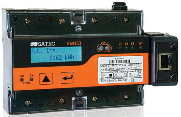 Внешний вид счетчика EM133