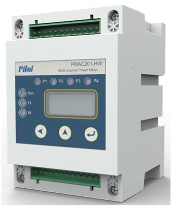 PMAC201-HW - Многоканальный счетчик электроэнергии
