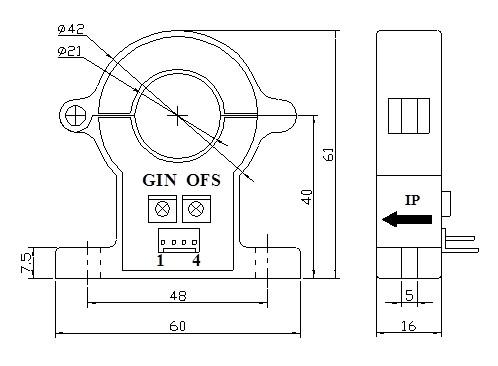 AeT - Трансформаторы тока с разъемным сердечником, датчик Холла