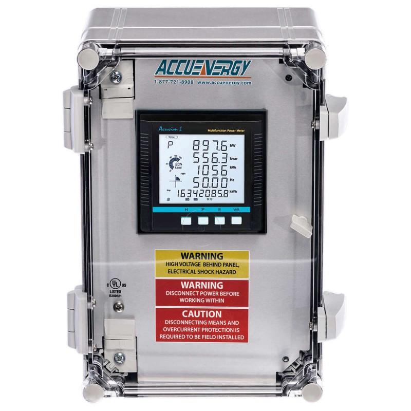 AcuPanel 9100 - Анализатор качества электроэнергии в корпусе NEMA
