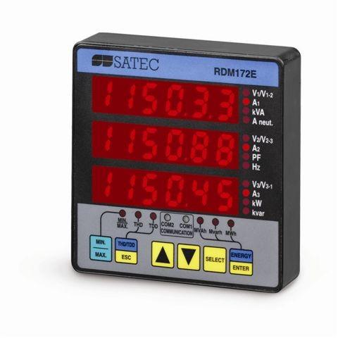 RDM172E - Дистанционный дисплей SATEC