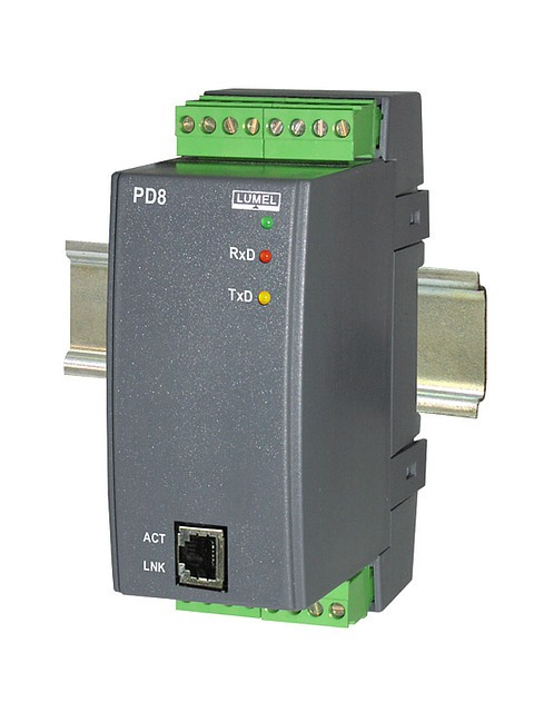 PD8 - Конвертор протоколов ETHERNET RS485