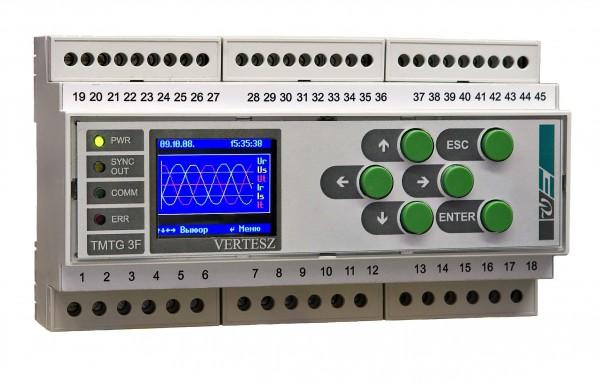TMTG-3R - Регистратор напряжения и тока, измерительный преобразователь