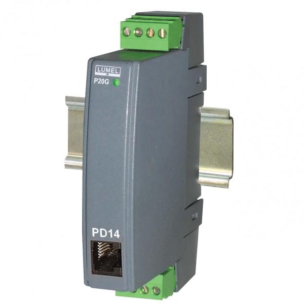 Измерительный преобразователь температуры P20, производства компании LUMEL предназначен...